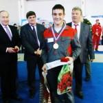 Пешков Александр 1-е место компетенция Кирпичная кладка