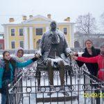 Петропавловская крепость памятник Петру I